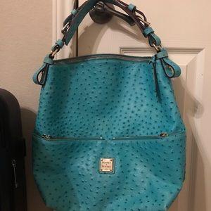 Ostrich purse